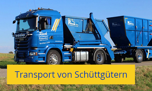 Transport von Lebensmitteln